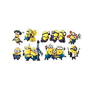 DESPICABLE ME 2 wall stickers Vinyl Art decals room kid decor MINIONS Removable.