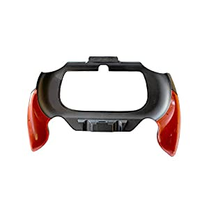 OSTENT Flexible Joypad Bracket Halter Handgriff Griff Kompatibel für Sony PS Vita PSV PCH-2000 – Farbe Rot
