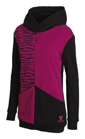 Hummel Damen Sweatshirt Divine Long Hood, black, M, 36-345-2001