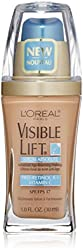 LOreal Visible Lift Serum Absolute Advanced Age-Reversing Makeup, Natural Buff 1 oz (Pack of 3)