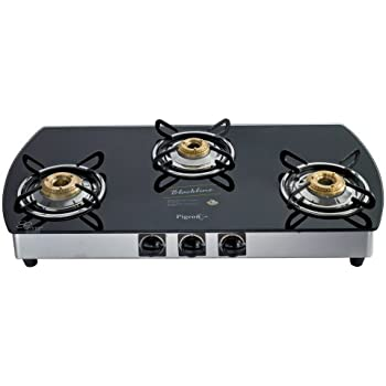 4ca0ec2c195 Buy Pigeon by Stovekraft Blackline Oval SS Gas Stove