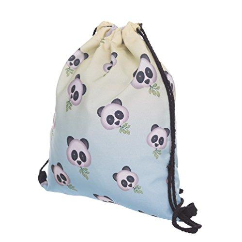 Imagen de fringoo   de cuerdas para niños, niñas y adolescente multicolor emoji panda h40 x l33 cm alternativa