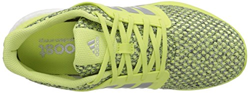 Adidas Performance Solar Boost Running Shoe, rose / argent / blanc, 5 M Us Yellow/Silver/White