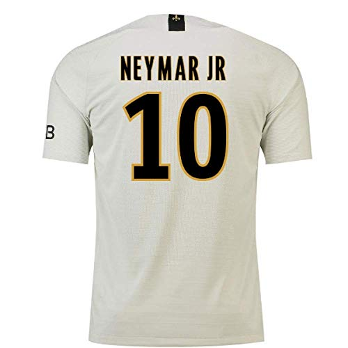 2018-19 PSG Away Football Soccer T-Shirt Camiseta (Neymar Jr 10) - Kids
