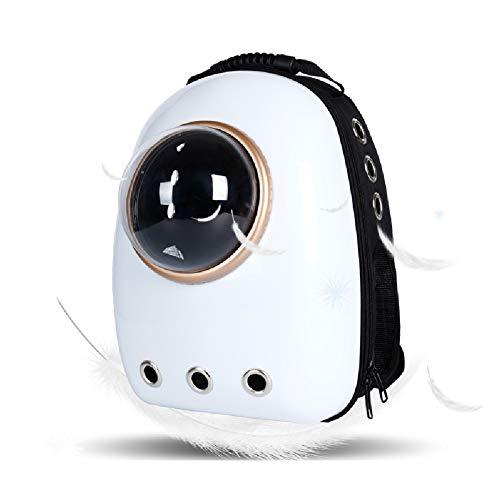 Zhixing Impermeable Transportín para Gato Perro cómodo Mochila Diseño de cápsula Espacial...