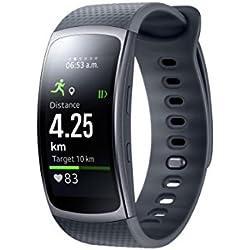 """Samsung Gear Fit II - Smartwatch de 1.5"""" con frecuencia cardíaca y notificaciones, S, Color Negro [Versión importada: Podría presentar Problemas de compatibilidad]"""