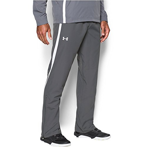 Under Armour UA Essential Warm-Up Pants Graphite/ White/ White