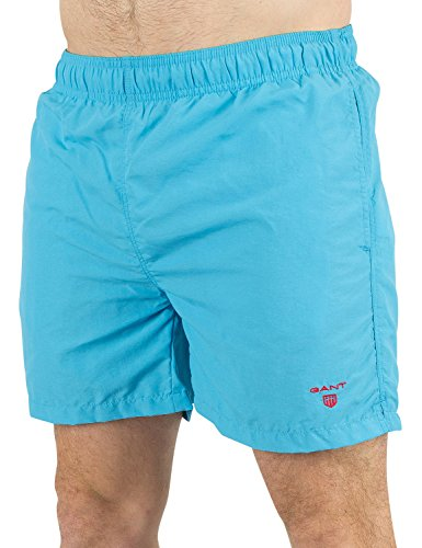 Gant Basic Swim C.f, Short Homme Blau (SAGE BLUE 417)