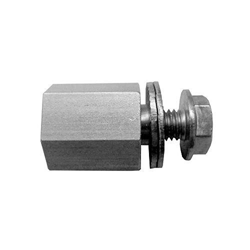 Croozer Unisex- Erwachsene Achskupplungsadapter-3092019213 Achskupplungsadapter, grau, One Size