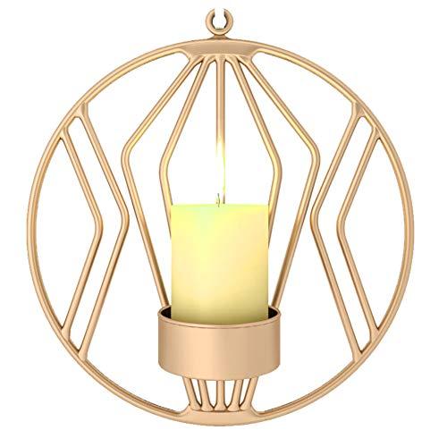 YSoutstripdu candelabro Redondo geométrico Colgar