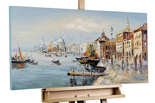 Kunstloft® Cuadro acrílico 'Sueño Veneciano' 100x50cm