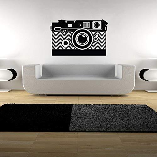 Camera Wall Art Decal Vinyl Transfer Photography Video Wall Sticker Photo Studio Wall Decor Camera Style Window Sticker67x42cm