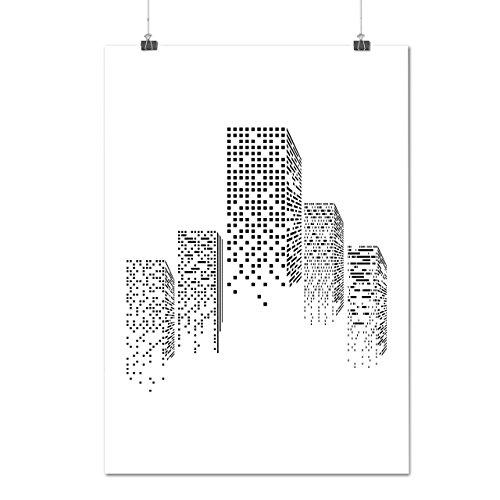 nyc-urban-building-city-building-matte-glossy-poster-a3-42cm-x-30cm-wellcoda