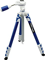 Fotopro S3 Sporty & Fashionable Blue Color Tripod For DSLR Cameras 3-Way Head