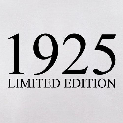 1925 Limierte Auflage / Limited Edition - 92. Geburtstag - Damen T-Shirt - 14 Farben Weiß