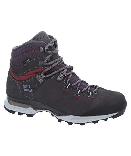 Hanwag Damen Trekkingschuhe Tatra Light Bunion Lady GTX grau/schwarz (719) 42 Gtx Light Hiking Boot