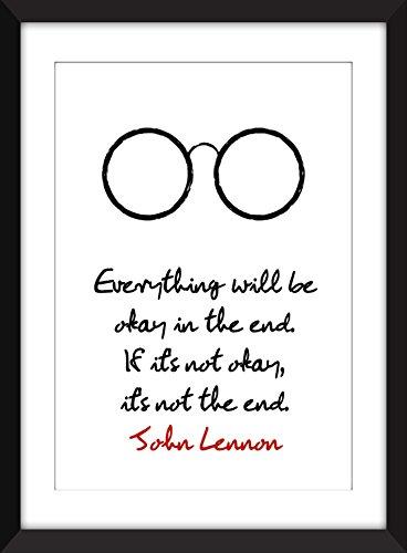 john-lennon-everything-will-be-okay-tutto-andr-bene-citazione-stampa-tipografia-arte-regalo-per-gli-