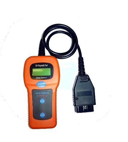 U480 CAN-Bus OBDII OBD2 EOBD Trouble Code Read Diagnose Tester