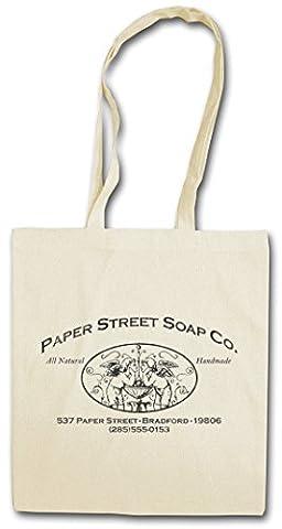 PAPER STREET SOAP CO. Réutilisable Pochette Sac De Courses en Coton Hipster Reusable Shopping Bag