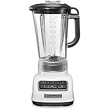 KitchenAid 5KSB1585 Batidora de vaso 1.75L 550W Color blanco - Licuadora (Batidora de vaso, 1,75 L, Color blanco, 2000 RPM, 11500 RPM, 1,143 m)