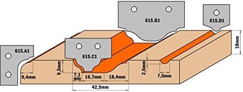 CMT arancia arancia arancia Tools 615.c2-Lama hw 35 x 25 x 2 (profilo c2) | Altamente elogiato e apprezzato dal pubblico dei consumatori  | attività di esportazione in linea  | Chiama prima  36148f