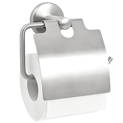 bremermann Bad-Serie PIAZZA - Toilettenpapierhalter mit Deckel, matt