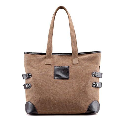 Damen-Segeltuch-Beutel-Schlag-Farben-Handtaschen Einfache Wilde Kunst-Kursteilnehmer-Handtaschen-Schulter-Beutel-Umweltschutz-Einkaufstaschen Große Beutel C