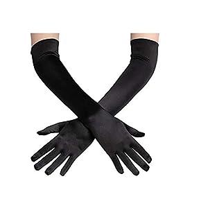 QJHP Sonnenschutz UV Arm Ärmel Frauen Kühlende Oder Wärmere Für Die Oper, Kostümpartys,Hochzeiten Und Alle Formellen Anlässe,Knitterarm