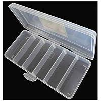 ToolUSA contenitore in plastica trasparente con divisori rimovibili: tj-48822