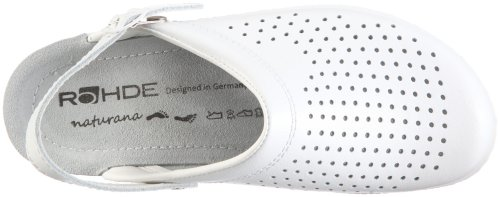 Rohde D Neustadt-D, Chaussures femme Blanc - Blanc (blanc 00)