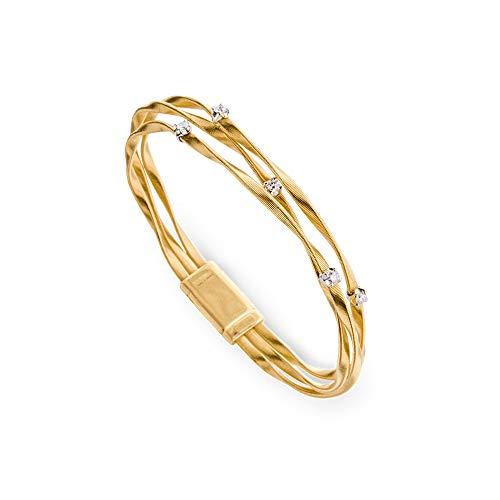 Bracciale Marco Bicego BG338-B donna oro 18 carati e diamanti