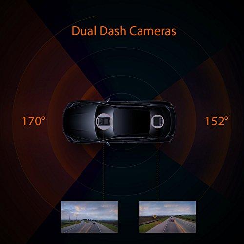 Zoom IMG-2 aukey doppia dash cam 1080p