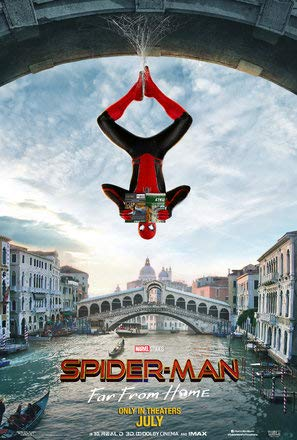 Spiderman : FAR from Home - U.S Movie Wall Poster Print - 30cm x 43cm / 12 Inches x 17 Inches -