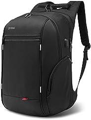 Travel Laptop BackpackAnti-Theft School Bookbag with USB Charging PortDurable Business Daypack College Compu