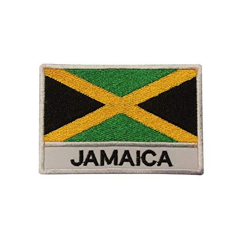 Real Empire Parche Bordado Bandera Nacional Jamaica