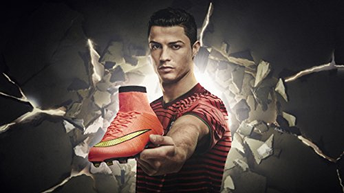 Cristiano Ronaldo Nike Mercurial Football Boots ON FINE ART PAPER HD QUALITY WALLPAPER POSTER  available at amazon for Rs.180