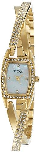 Titan Purple Analog White Dial Women's Watch - ND9851YM01J image