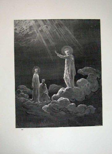 Arte 1870 delle Nuvole di Angeli della Galleria del Paradiso Dore di Dante - Paradise Gallerie
