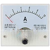 850c1 DC 0-10A - Amperímetro analógico rectangular
