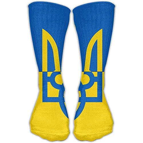 Ukrainian Flag Athletic 30cm Stockings Ankle Socks Sport Casual Socks  Cotton Crew Socks Long Sock One 52b253155666