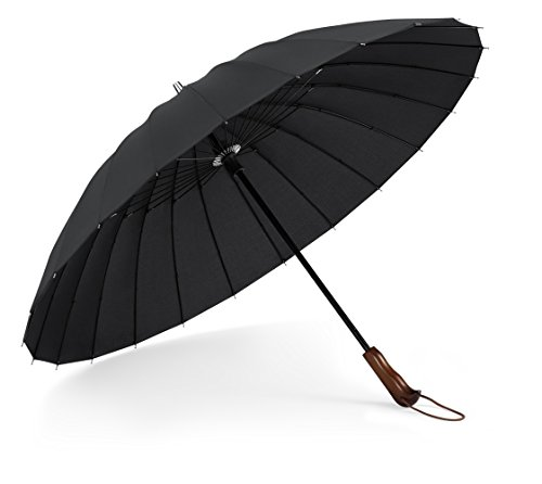 Plemo Paraguas 24 Varillas Resistencia Óptima contra