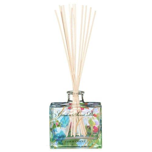 Yankee candle 1348808E Garden Sweet Pea Firma Reed Diffusori, Legno,
