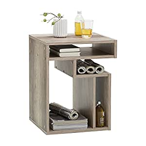 FMD möbel 648-001 fritz table d'appoint 60 x 48 x 40 cm chêne