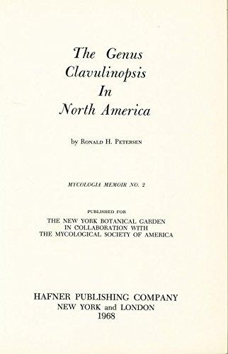 The Genus Clavulinopsis In North America. MYCOLOGIA MEMOIR NO. 2.