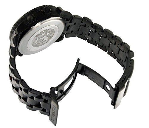 Schwarzes Edelstahluhrband für CITIZEN AS4025-08E