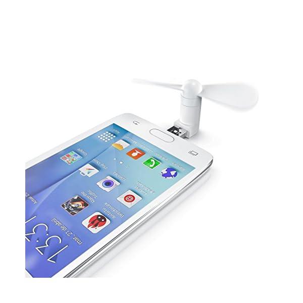 CSL-USB-Ventilador-para-smartphonepowerbankporttilFan-Nuevo-model-2018-contacto-USB-y-micro-USB-2in1-ANDROID-iOS-blanco