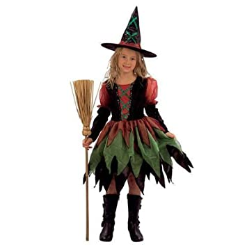 girls witch costume girls witches outfit halloween costumes fancy dress 412 yrs small amazoncouk toys u0026 games