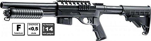 Combat Zone SG4 Airsoft Gewehr, schwarz, One Size
