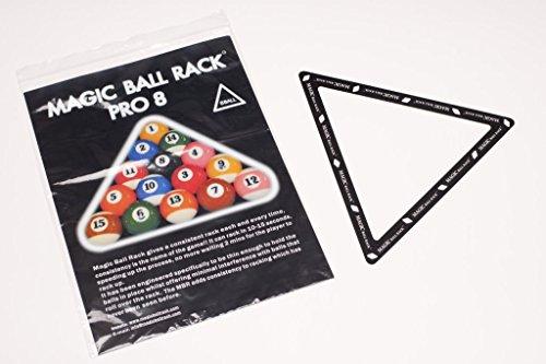 Preisvergleich Produktbild Magic Ball Rack Pro 8 Pool Billard Dreieck Aufbauschablone