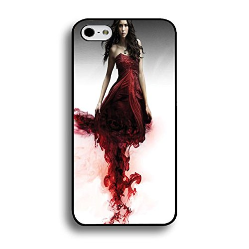 iPhone 6Plus/6S Plus (5.5inch) Vampire Bloody Cover Shell uniuqe Magic Elena Gilbert Fantasy TV Show The Vampire Diaries Phone Case Cover For iPhone 6Plus/6S Plus (5.5inch)